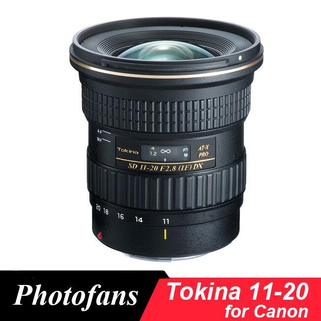 Tokina 11-20mm f/2.8 AT-X 11-20 pro DX lente para Canon 650D 700D ...
