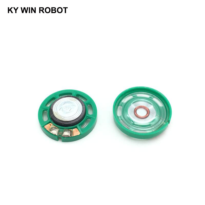 Image 2 - 5pcs/lot New Ultra thin Mini speaker 16 ohms 0.25 watt 0.25W 16R speaker Diameter 27MM 2.7CM thickness 7MM-in Acoustic Components from Electronic Components & Supplies