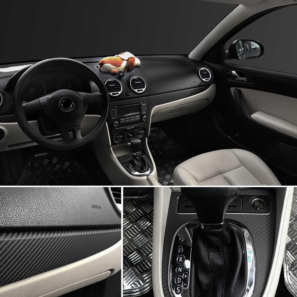Autocollant et décalcomanie de Film d'enveloppe de style chaud de Fiber de carbone de voiture de 30x127 cm 3D 5D pour Audi A4 Avant A4 Cabriolet A6L A8L TT TTS toutes les voitures