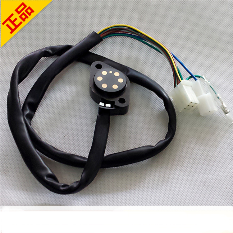 US $8 98 10% OFF motorcycle GN125 GS125 gear lever indicator position shift  sensor stall cable line for Suzuki 125cc GN GS 125 gear sensor part-in