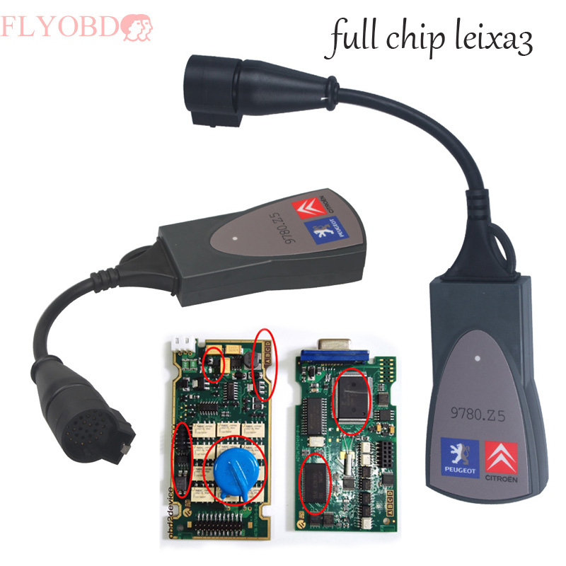 Best Price Full chip 921815C Firmware Diagbox V7 76 Lexia 3 PP2000 Lexia3 Diagnostic font b