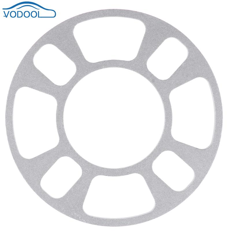 8mm Car Aluminum Alloy Wheel Spacer Gasket Wheels Tires Auto Parts For 4 Hole Wheel Hub 4X98 4X100 4X108 4X114 Car Accessaries high polish wheel spacer with step 4x100 57 1 for jetta & santana 15mm thickness