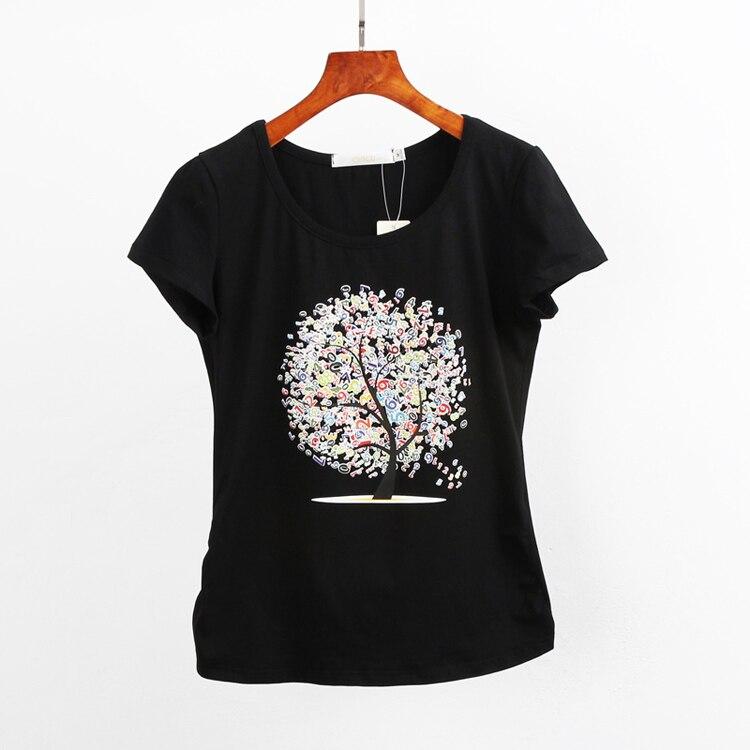 HTB1n.M QpXXXXavXXXXq6xXFXXX2 - Summer clothing short-sleeve T-shirt female casual shirts