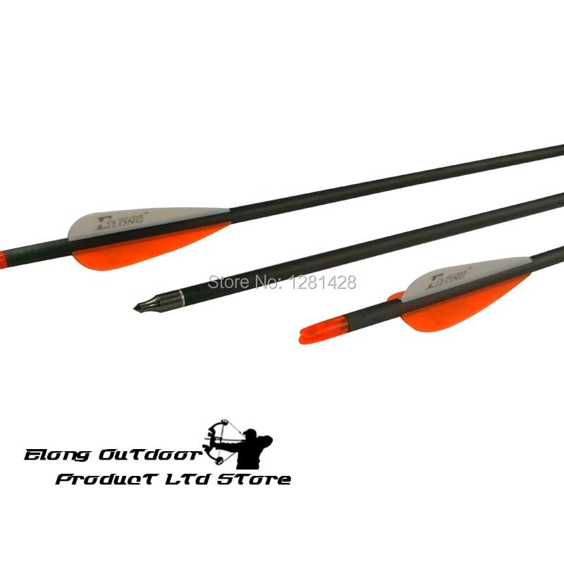 【2016 New Elong 30 ᗑ Sp340 Sp340 Carbon Arrow With ᐂ 3 3