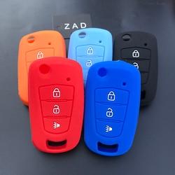 ZAD силиконовый чехол для автомобильного ключа, защитный чехол для Great wall HAVAL H1 H3 H5 H6 C30 C50 M4 WINGLE 5 6 3 кнопочный дистанционный ключ