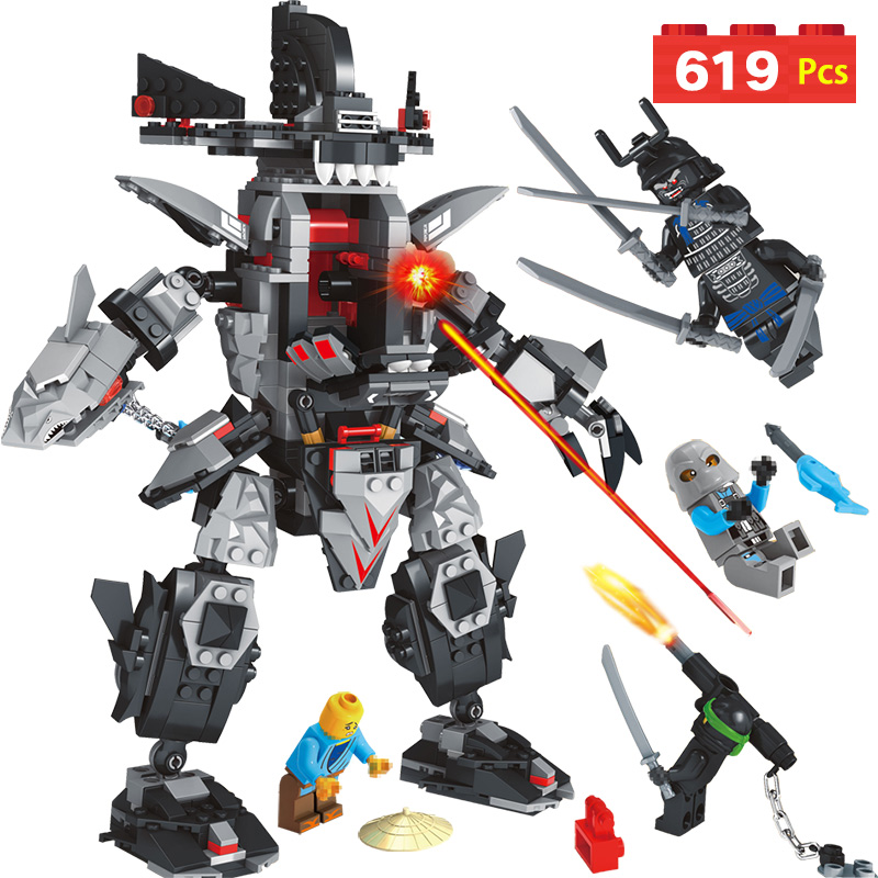 Ninjagoed Garma Mecha Man 70613 Models Building Blocks Anime action figures Bricks Toys for children Compatible with LegoINGLYS models building toy ninjago garma mecha man figure 06060 977pcs building blocks compatible lego ninjago 70613 toys