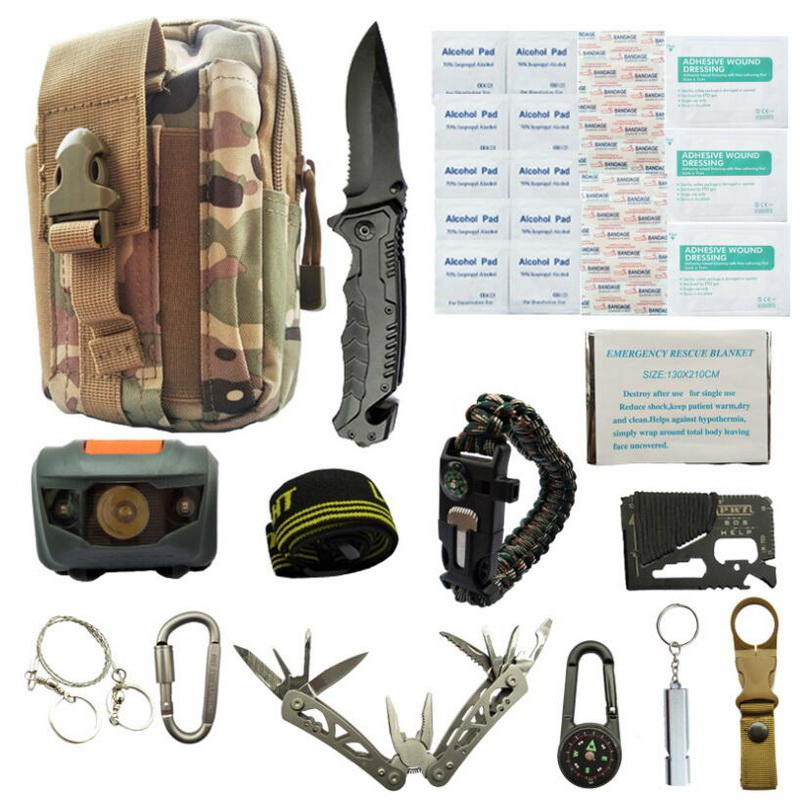 first aid kit emergency survival kit