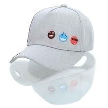 Dad Hat para hombres bordado Denim negro Emoji sonrisa Dad Cap mujeres  hombres Rapper Snapback gorra de béisbol Hip Hop femenino fcd8c45cf91