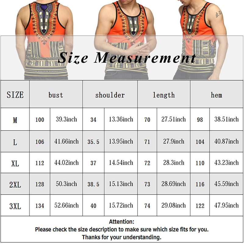 Adult Men Vogue African Dashiki Print Striped Tee Shirt Fitness Slim Cami Tank Tops Muscle Sleeveless Summer Vest T Shirt 3XL (11)