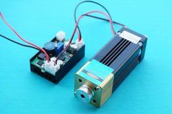 445nm 447nm 450nm 4 W niebieski Laser moduł Dot 12 V + TTL + chłodzenie wentylatora|module 12v|ttl laser modulettl module -