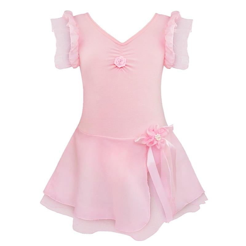 Kinder Tanzkostüm Ballerina Kleid Mädchen Ballettkleid Ballettbekleidung im Set