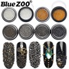 Charms 3D Nail Art Decorations Stud Glitter Gold Silver Caviar Micro Beads DIY Jewelry Design Supplies