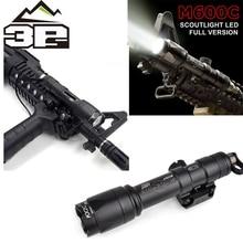 цены Airsoft Surefir M600C Weapon Tactical Scout light LED 366 LumenTactical Rifle Flashlight Airsoft M600 Series WEX072