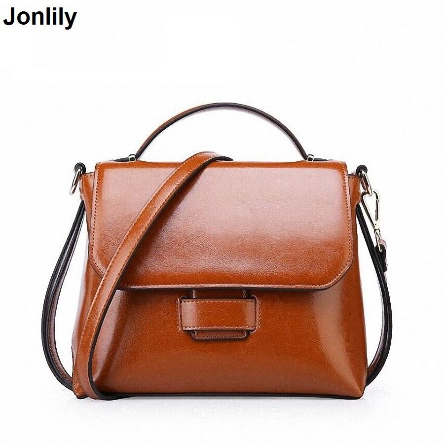 Small Leather Women Crossbody Bags For Women Messenger Bags Vintage Genuine Leather Female Handbags-SLI-314