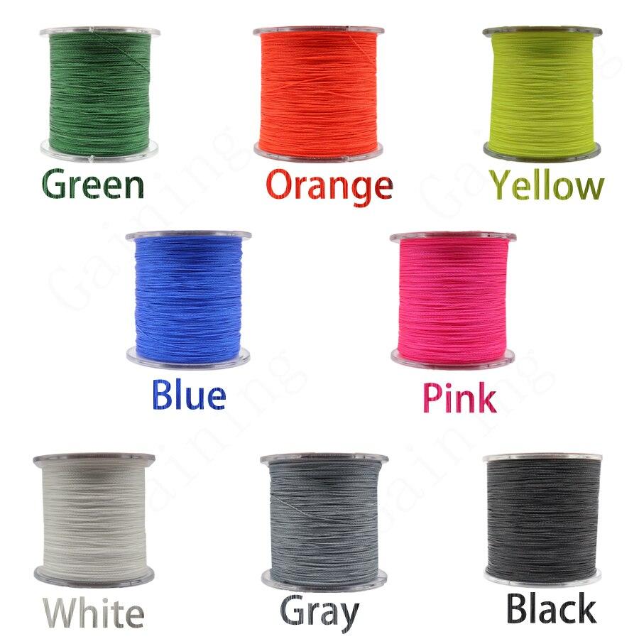 4 strands fishing line color choose