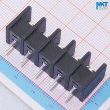 100 шт. 5 P 8,25 мм Шаг B-тип прямые булавки PCB Электрический винтовой клеммный блок