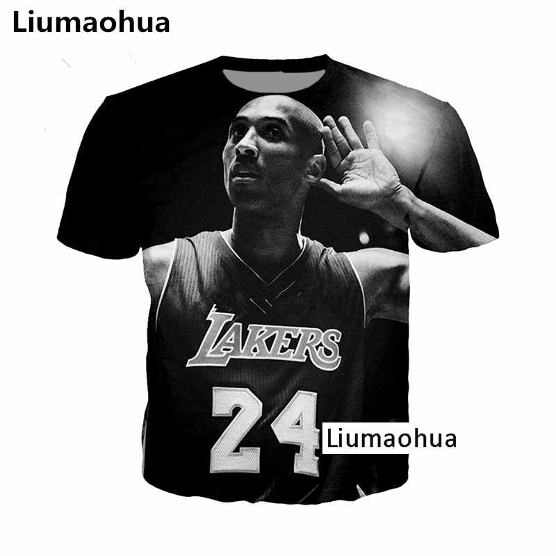 new concept 371ff 5513c Liumaohua Fashion Kobe Bryant LA Lakers Faith Stars 24 Tees ...