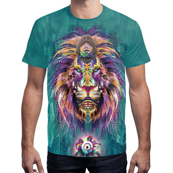 Lixiang 3D Printed Short Sleeve T-shirt Women Men Streetwear  harajuku  t shirt Couple clothes gothic polera mujer 1