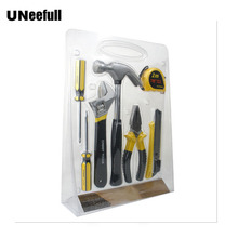 UNeefull инструменты для дома Набор отверток, плоскогубцев, молоток, универсальный нож, рулетка, гаечный ключ Деревообработка и электрика