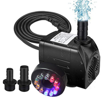 16W Fish Tank 800L/H Electric Water Feature Pump Small Fountain for Outdoor Garden Fish Pond UK PLUG