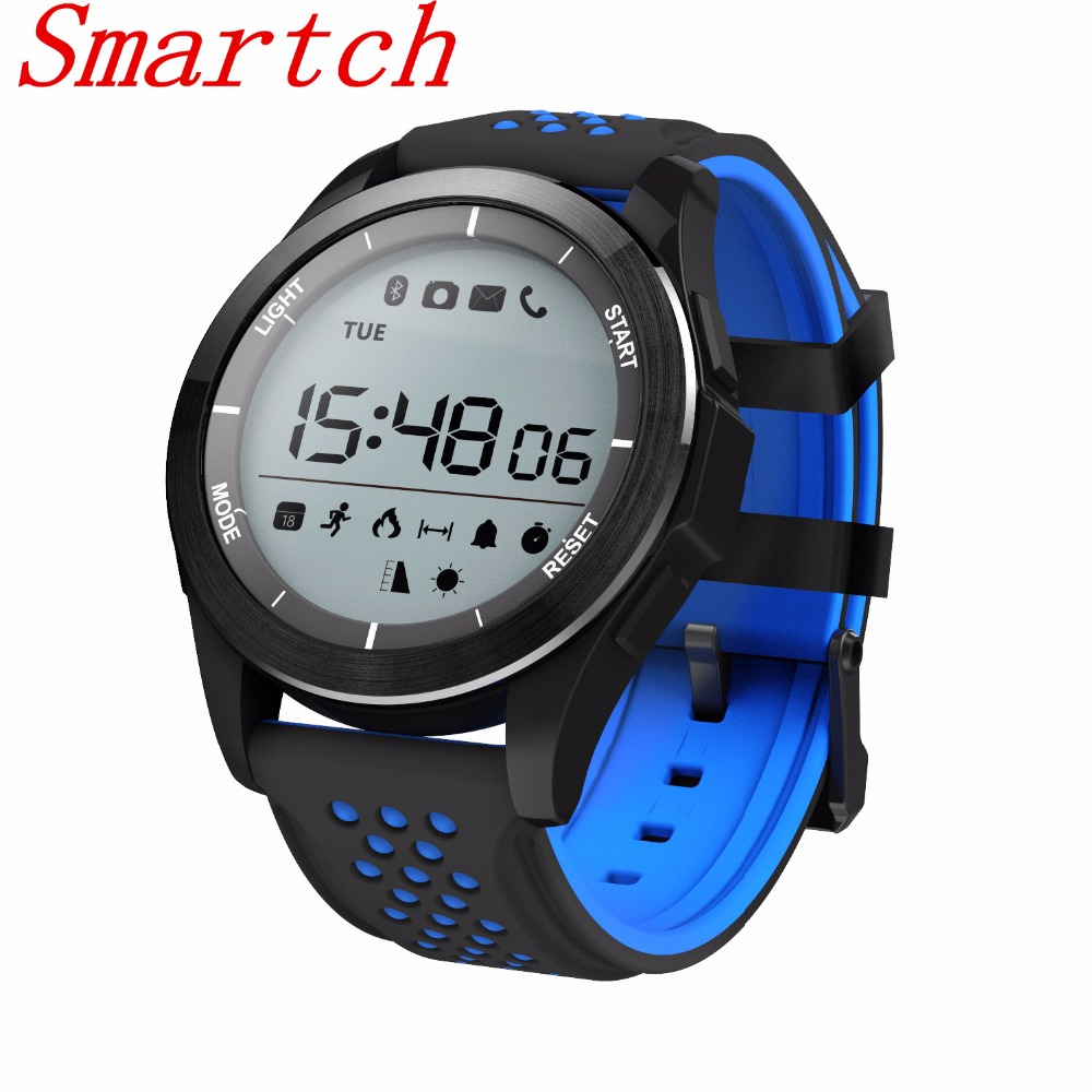 Smartch Smart Watch Swimming Sports Bracelet Altimeter Clock Barometer Watches Digital Outdoor Waterproof Smartwatch F3 Fitness