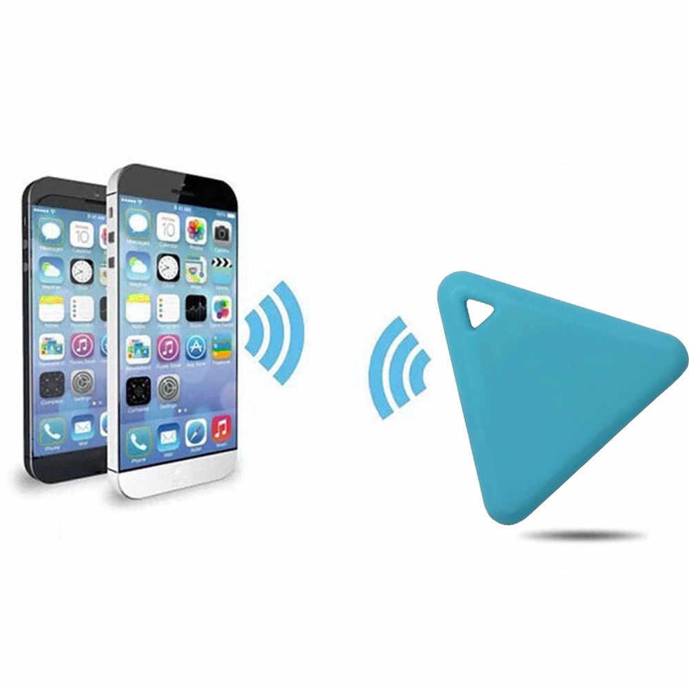Смарт-мини gps трекер для домашних животных Водонепроницаемый Bluetooth Tracer треугольные ключи кошелек сумка Детские трекеры Finder оборудование 23
