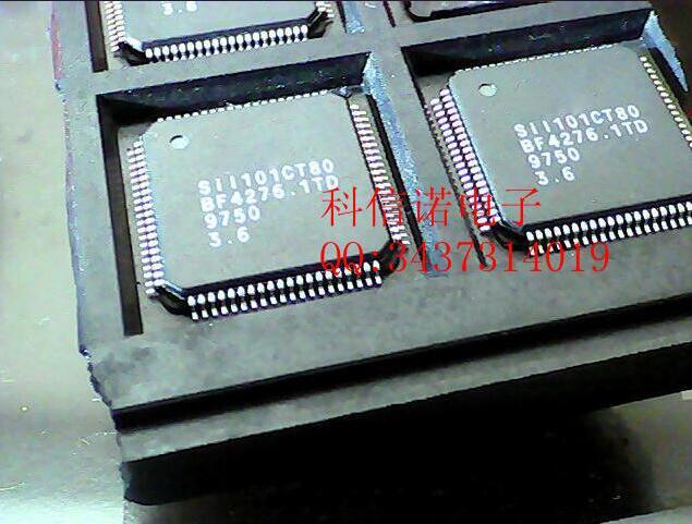 The original 10PCSLOT SIL101CT80 QFP