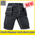 Summer workwear black cargo short cargo work pant tool pant  free shipping