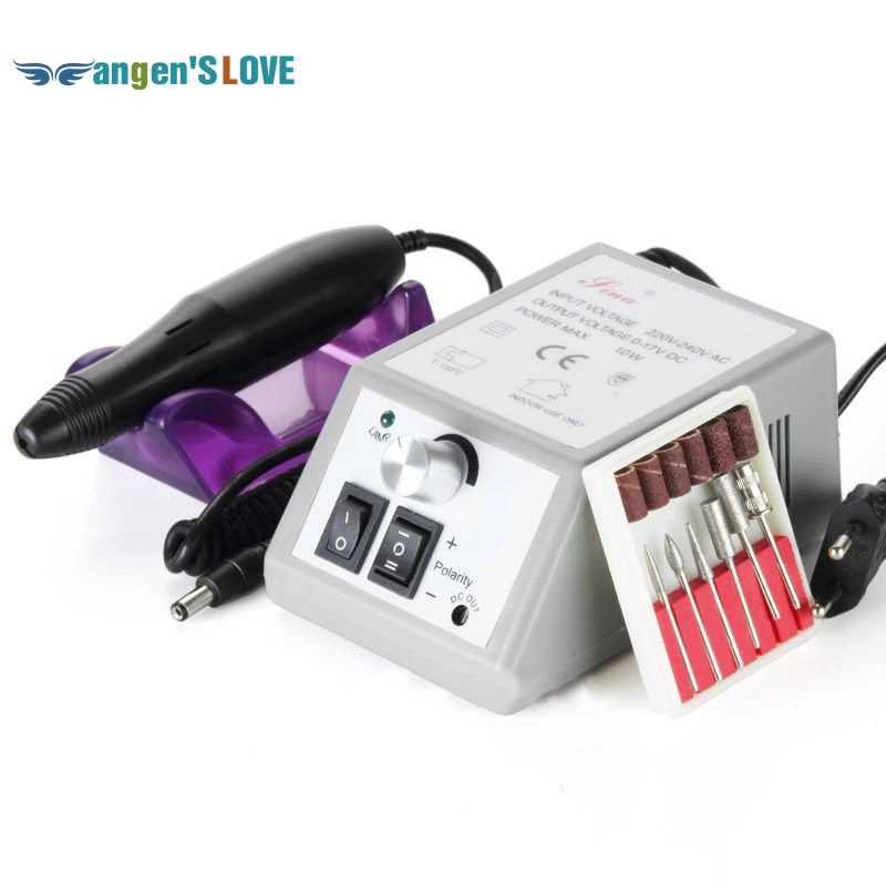 Electric Professional Nail Drill Machine Маникюр Педикюра Pen Tool жиынтығы жиынтығы