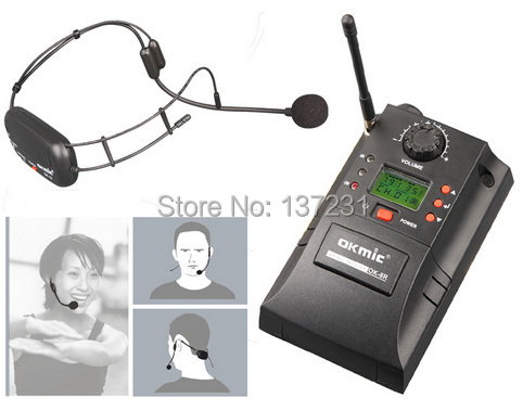gym headset wireless microphone professional uhf pll instrument wireless system health sports. Black Bedroom Furniture Sets. Home Design Ideas