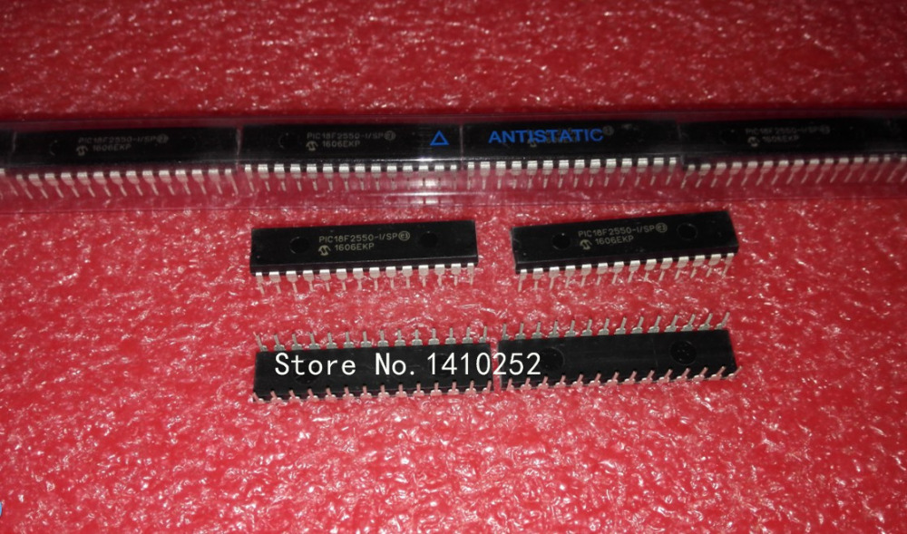 PIC18F2550 I SP PIC18F2550 DIP28 MODULE new in stock Free Shipping