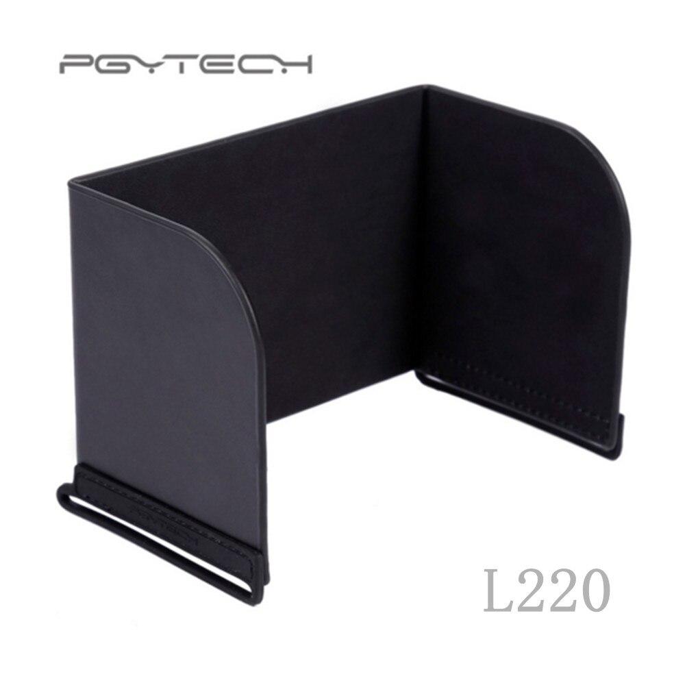 PGYTECH Remote Control Sunshade Sunhold For Mavic Pro Platinum Phantom 4 Pro Inspire M600 Monitor Hood For 10.5 Inch Pad L220