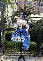 Широ Neko проекта Магия шутер красный и синий изготовление размеров под заказ форма Косплэй костюм Бесплатная доставка