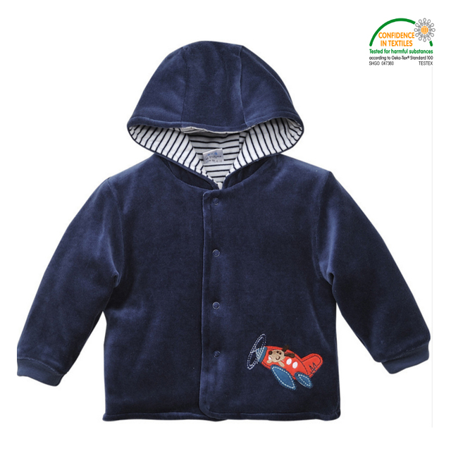 Colorful Baby Hoodies & Sweatshirts 6 to 24 Months Oeko-tex 100 Certified Baby Wear Autumn Winter Coats Newborn Baby Clothes