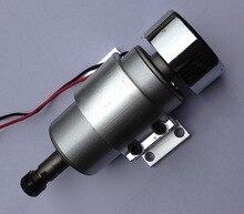 high speed spindle ER16 48V 400W brush air cooled PCB spindle motor+mount bracket fixture D52mm стоимость