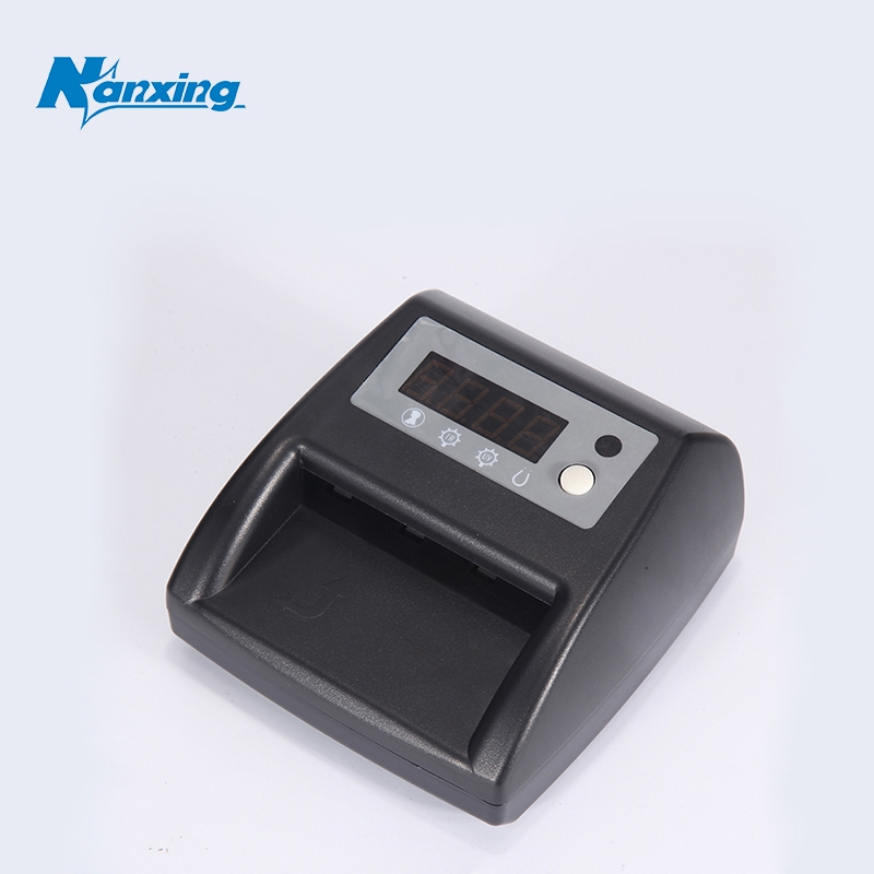 [Nanxing]money detection with UV Lamp fake money detector machine for safe money Detect currencies with UV, MG,IR NX-125 micro ir uv