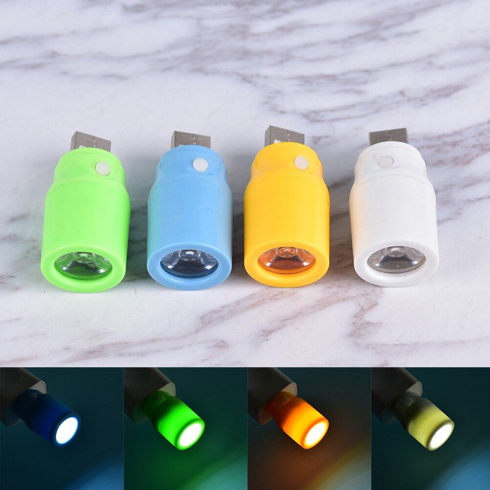 Hot New Portable Mini USB LED Ball Light Camp Lamp Bulb For Laptop PC Desk Reading