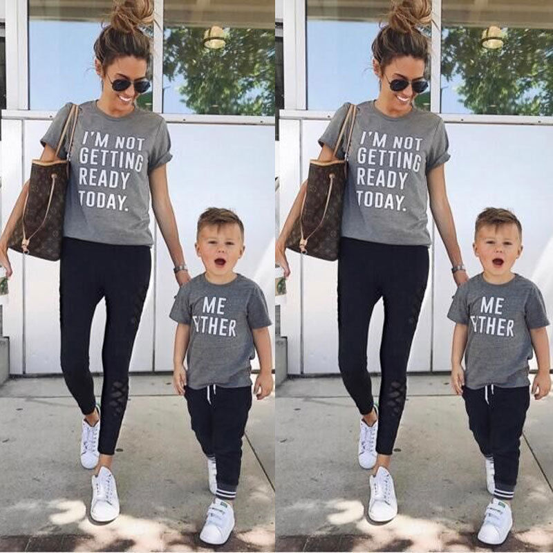 aliexpress  buy family matching outfits t shirt