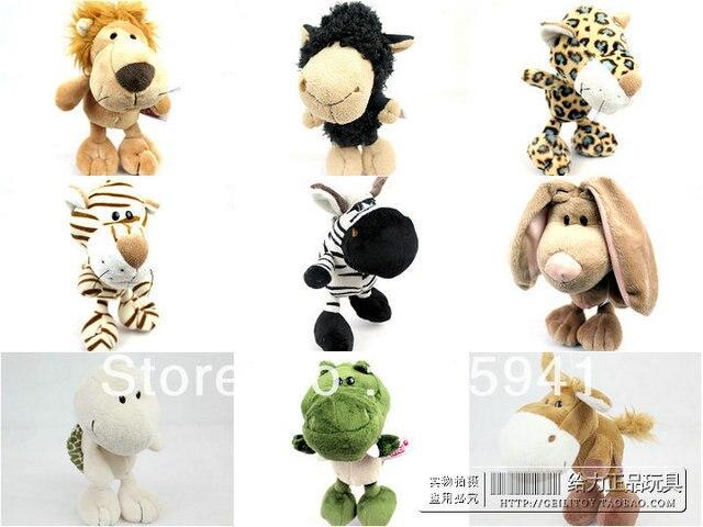 Free shipping Plush toy nici lyrate animal series of sheep rabbit LACOSTE tortoise donkey