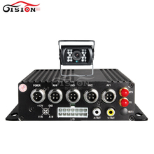 CCTV Surveillance System Actual Time 3G Cellular Automobile Dvr, GPS Tracker 4CH Video/Audio Car Monitoring Recorder ,On-line Bus Mdvr