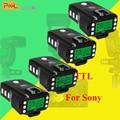 4x PIXEL KING PRO For Sony MI Shoe Camera TTL HSS 1/8000S LCD Flash Triggers Controls Canon Nikon Speedlite On King Pro Receiver