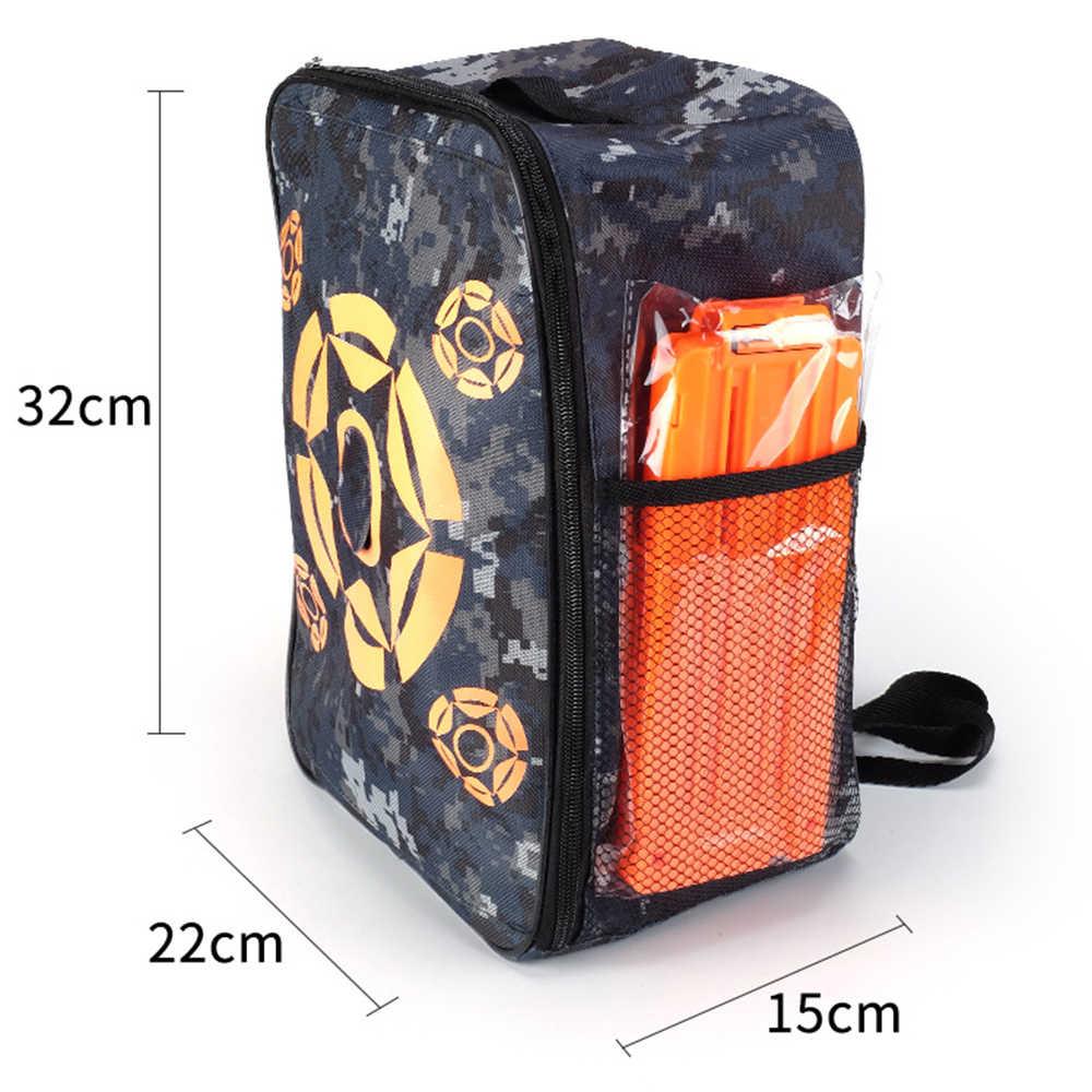 De Nieuwe Doel Zak Pistool Speelgoed Pouch Refill Clip Darts Kogels Tas Voor Nerf Airsoft Pistool Speelgoed Pistool Schieten Tactical rugzak