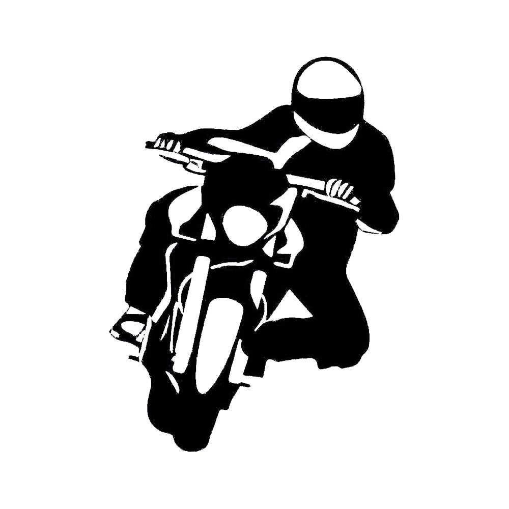 15112cm Auto Aufkleber Motorrad Biker Mopped Bike Sticker Funny Car Window Bumper Novelty Jdm Drift Vinyl Decal Sticker