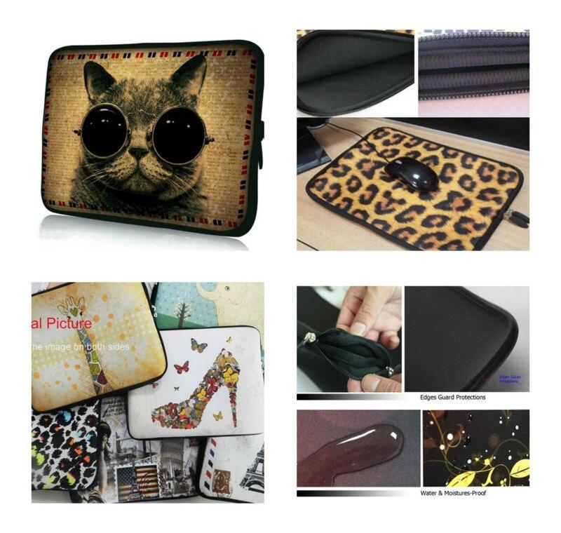 Customized Design soft neoprene laptop sleeve handle bag 10.111.61213.3141515.61717.3 for macbook dell hp Sony Thinkpad