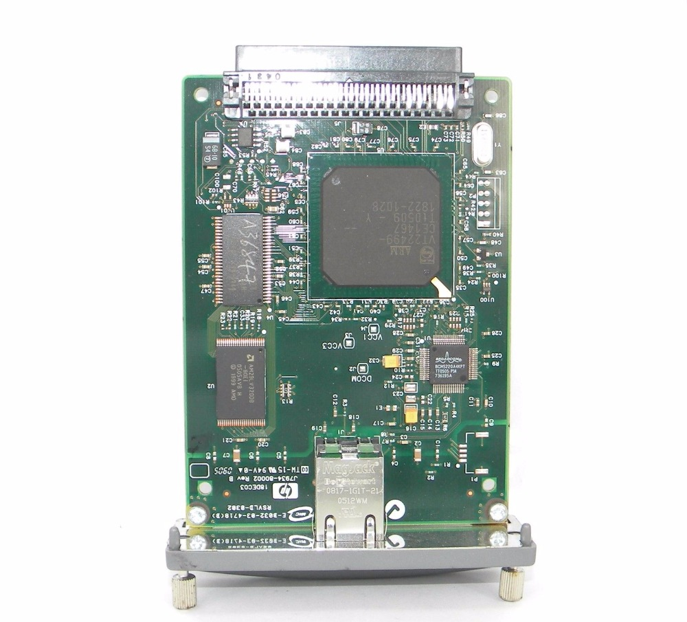 NETWORK CARD FOR 620N JETDIRECT J7934A 10/100tx Server Card SHIPPING FREE for hp laser printer