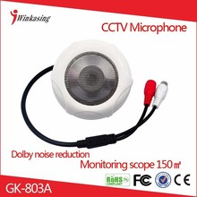 China Factory High Sensitivity And Quality Audio CCTV Microphone Up To 1000m Sound Monitor For Camera