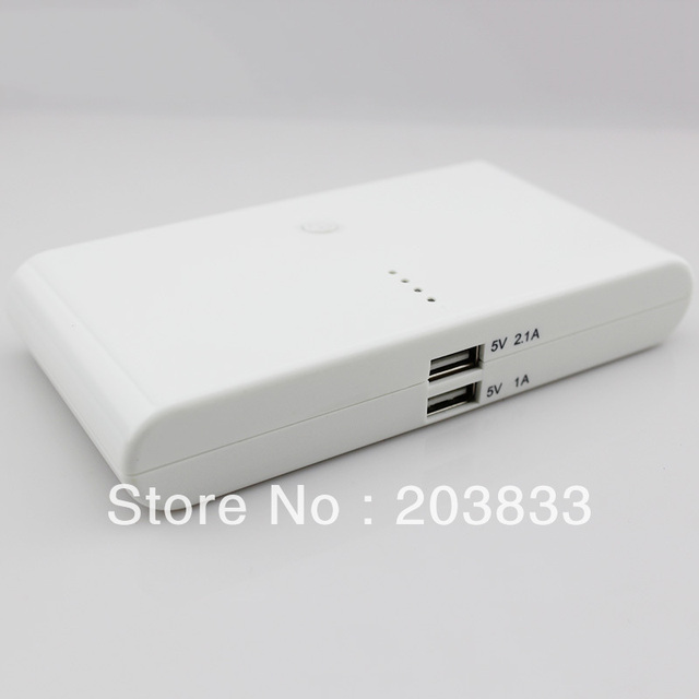 new arrival nice 20000mAh Universal  Power Bank PB013 + 8* mobile phone adapter + 1 * USB cable