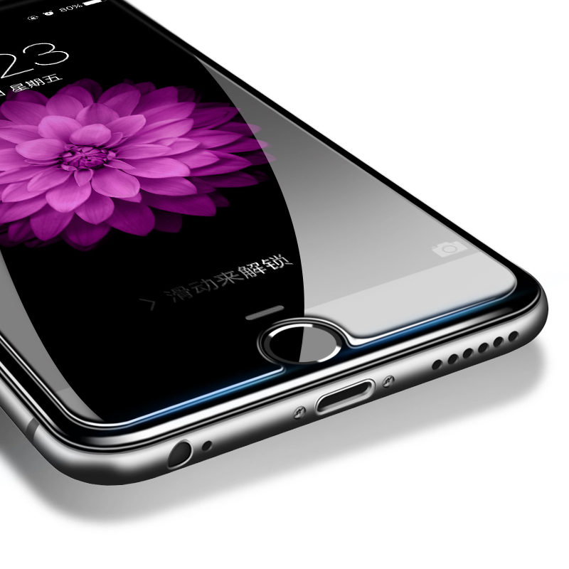 H & lOO 9H 2.5D härdat glas skärmskydd för iPhone 11pro MAX XR XS - Reservdelar och tillbehör för mobiltelefoner - Foto 3