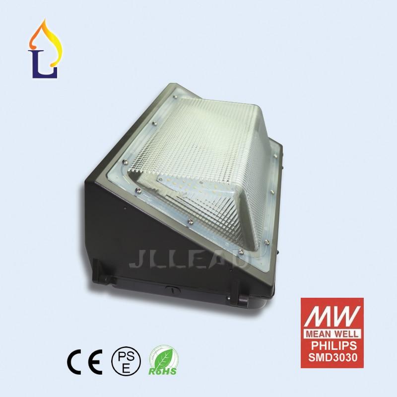 10 пакет 40W 60W 75W 100W LED стенна лампа водоустойчива ip65 градинско осветление AC100-277V стенна лампа