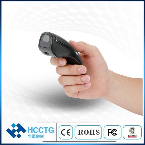 mini 24g mouse sem fio bluetooth barcode scanner hm3